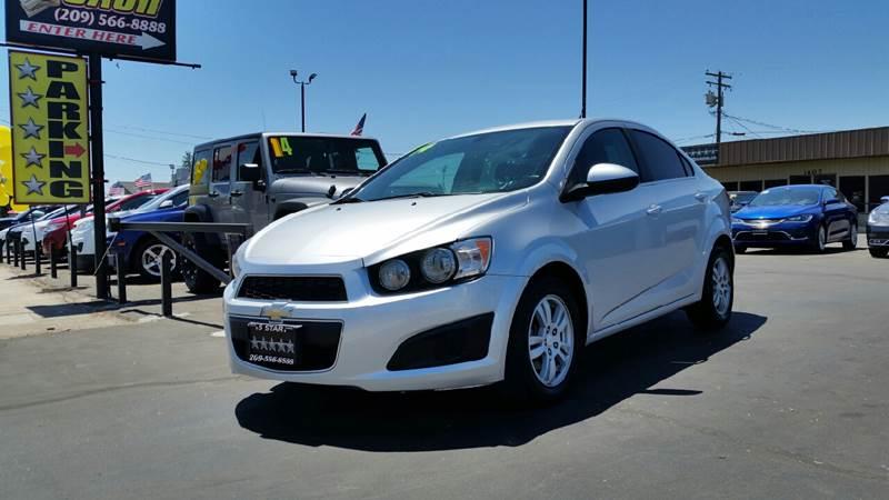 2014 Chevrolet Sonic for sale at 5 Star Auto Sales in Modesto CA
