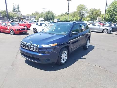 2016 Jeep Cherokee for sale at 5 Star Auto Sales in Modesto CA