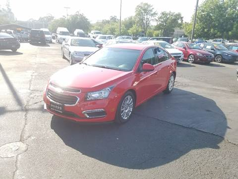 2015 Chevrolet Cruze for sale at 5 Star Auto Sales in Modesto CA