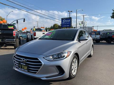 2017 Hyundai Elantra for sale at 5 Star Auto Sales in Modesto CA