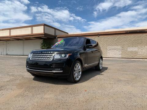 2017 Land Rover Range Rover for sale at 5 Star Auto Sales in Modesto CA