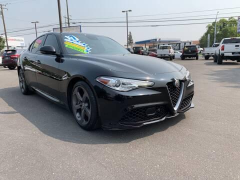 2017 Alfa Romeo Giulia for sale at 5 Star Auto Sales in Modesto CA