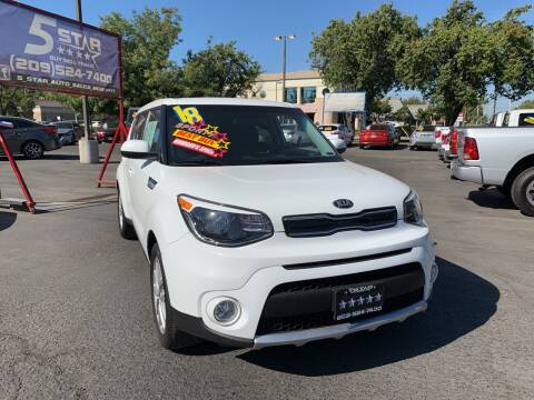 2018 Kia Soul for sale at 5 Star Auto Sales in Modesto CA