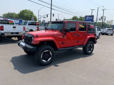 2012 Jeep Wrangler Unlimited for sale at 5 Star Auto Sales in Modesto CA
