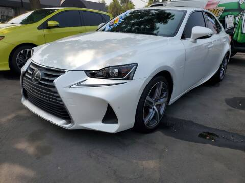 2017 Lexus IS 200t for sale at 5 Star Auto Sales in Modesto CA
