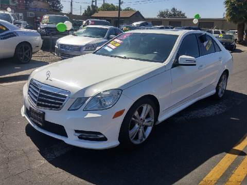 2013 Mercedes-Benz E-Class for sale at 5 Star Auto Sales in Modesto CA