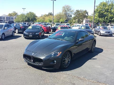 2012 Maserati GranTurismo for sale at 5 Star Auto Sales in Modesto CA