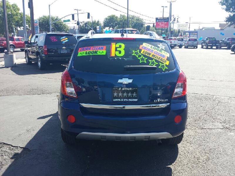 2013 Chevrolet Captiva Sport for sale at 5 Star Auto Sales in Modesto CA