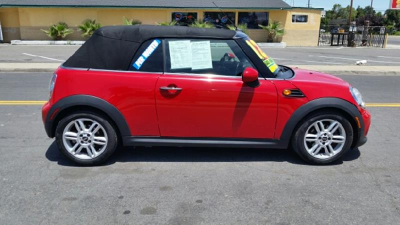 2013 MINI Convertible for sale at 5 Star Auto Sales in Modesto CA