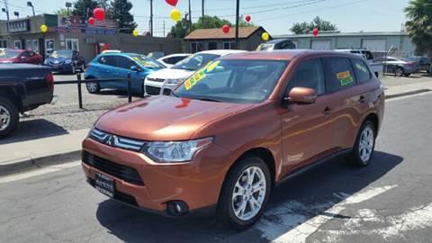 2014 Mitsubishi Outlander for sale at 5 Star Auto Sales in Modesto CA