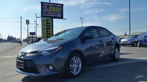 2014 Toyota Corolla for sale at 5 Star Auto Sales in Modesto CA