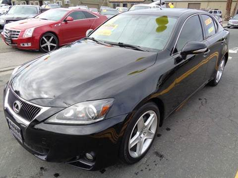 2011 Lexus IS 250 for sale at 5 Star Auto Sales in Modesto CA