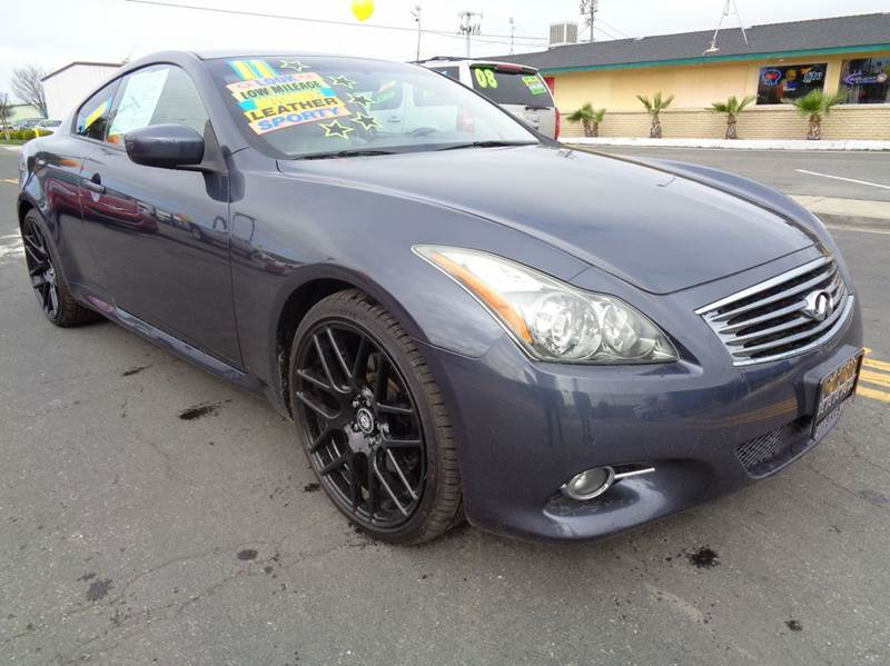 2011 Infiniti G37 Coupe for sale at 5 Star Auto Sales in Modesto CA