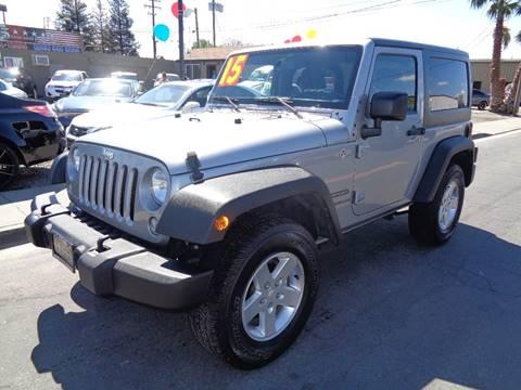 2015 Jeep Wrangler for sale at 5 Star Auto Sales in Modesto CA