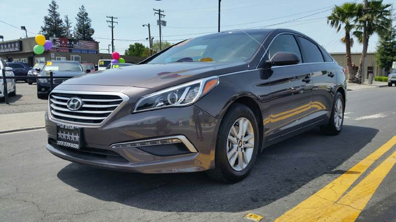 2015 Hyundai Sonata for sale at 5 Star Auto Sales in Modesto CA