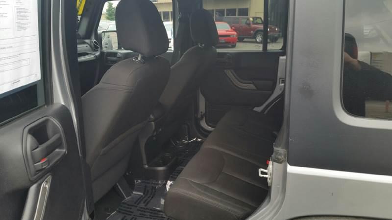 2014 Jeep Wrangler Unlimited for sale at 5 Star Auto Sales in Modesto CA