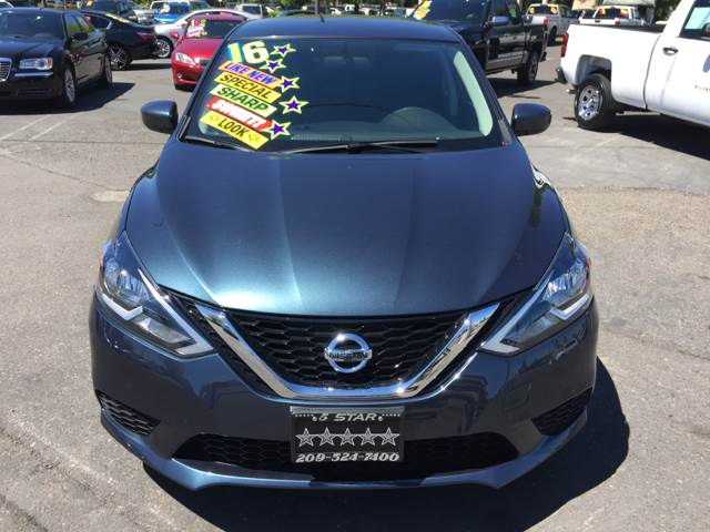 2016 Nissan Sentra for sale at 5 Star Auto Sales in Modesto CA