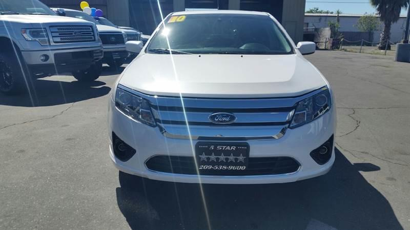 2010 Ford Fusion for sale at 5 Star Auto Sales in Modesto CA