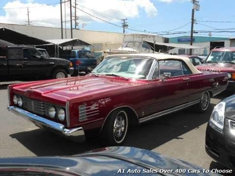 1965 Mercury Park Lane for sale in Honolulu, HI