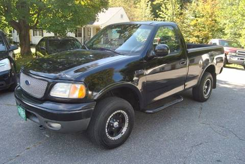 2002 Ford F-150 for sale at Olney Auto Sales in Williford AR