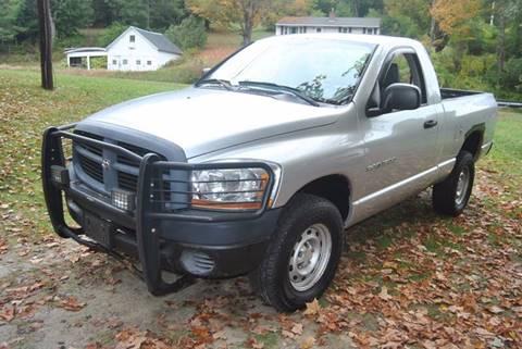 2006 Dodge Ram Pickup 1500 for sale in Springfield, VT