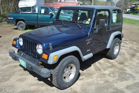 2000 Jeep Wrangler for sale in Springfield, VT