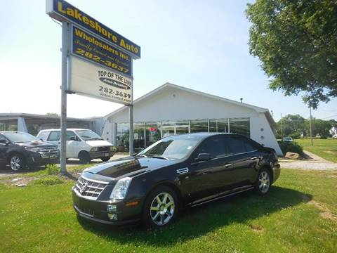 2008 Cadillac STS for sale at Lakeshore Auto Wholesalers in Amherst OH