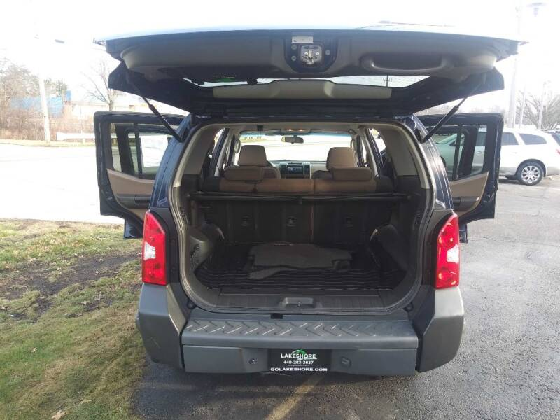 2007 Nissan Xterra X 4dr SUV 4WD (4L V6 5A) - Amherst OH