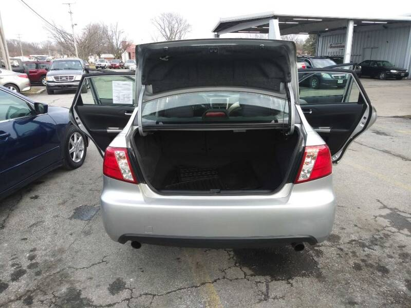 2010 Subaru Impreza AWD 2.5i 4dr Sedan 4A - Amherst OH