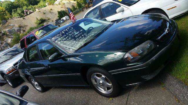 2002 Chevrolet Impala for sale at WINSTED MOTOR CARS LLC in Torrington CT