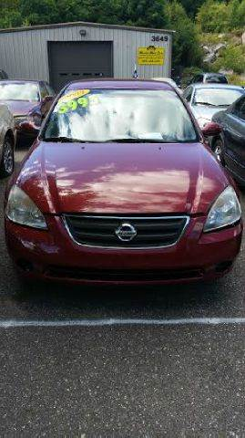 2003 Nissan Altima for sale at WINSTED MOTOR CARS LLC in Torrington CT