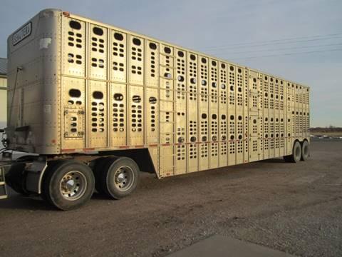 1994 Wilson Silver Star Livestock Trailer