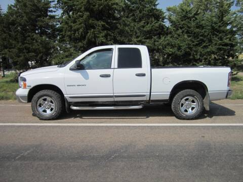 2004 Dodge Ram Pickup 1500 for sale at Joe's Motor Company in Hazard NE