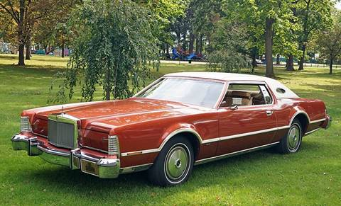 used 1976 lincoln continental for sale. Black Bedroom Furniture Sets. Home Design Ideas