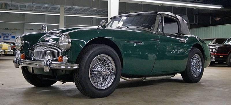 1967 Austin-Healey 3000 Mk III 4