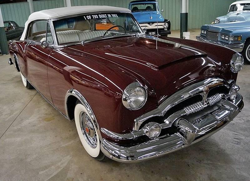 1953 Packard Caribbean 1