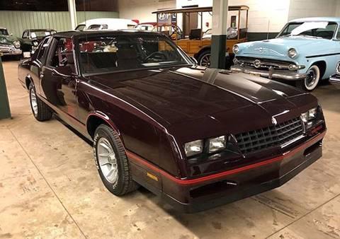 1987 Chevrolet Monte Carlo For Sale Carsforsale Com