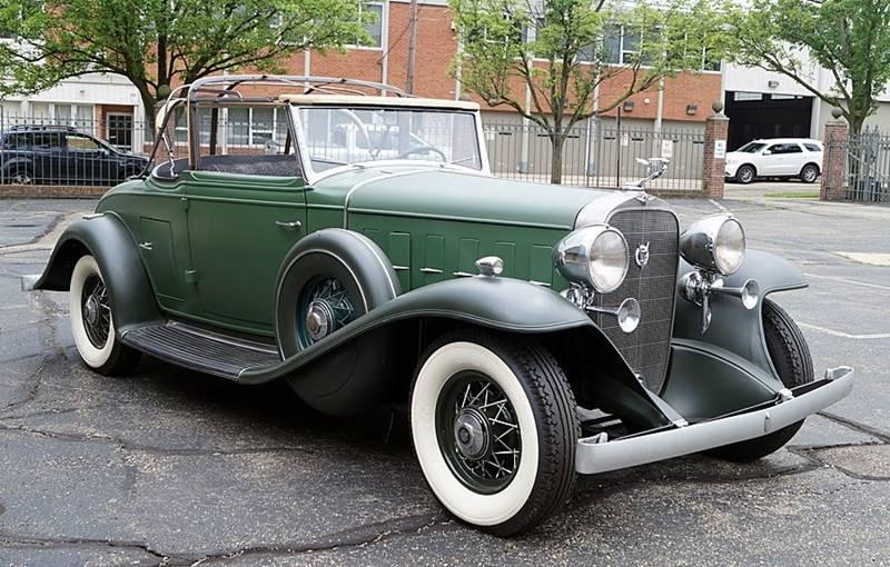 1932 Cadillac V12 1