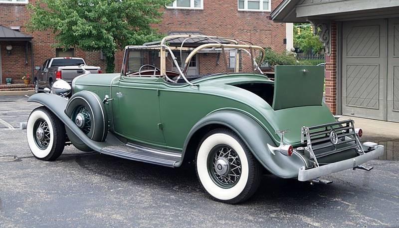 1932 Cadillac V12 11
