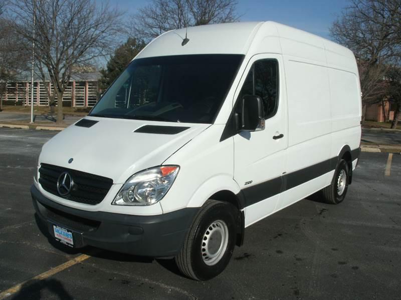 2012 Mercedes Benz Sprinter Cargo 2500 3dr 144 In Wb Cargo Van In