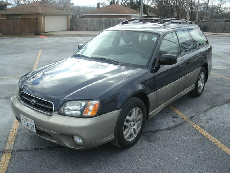 2003 Subaru Outback Awd 4dr Wagon In Skokie Il Siglers Auto Center