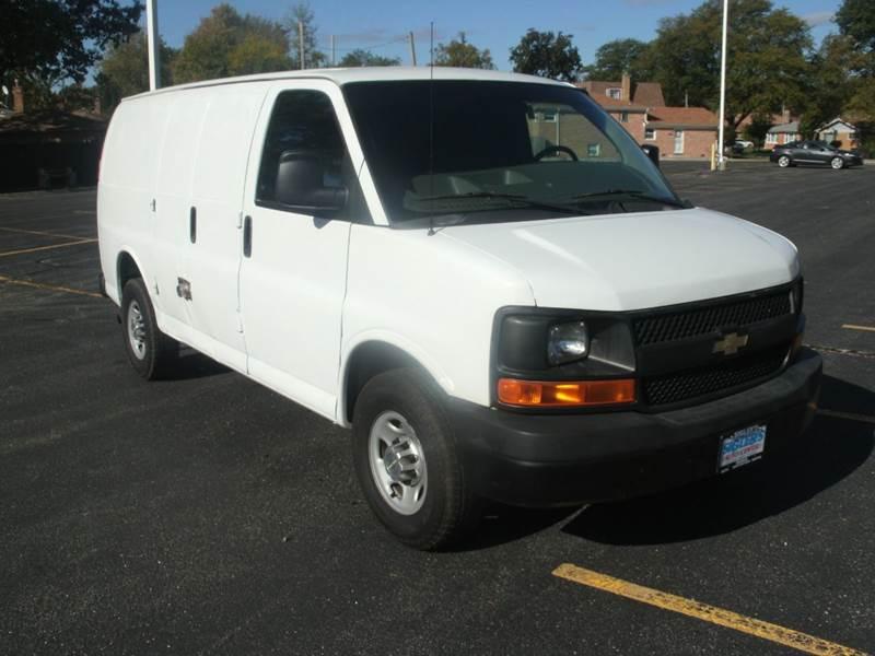 2010 Chevrolet Express Cargo 2500 3dr Cargo Van W 1wt In Skokie Il