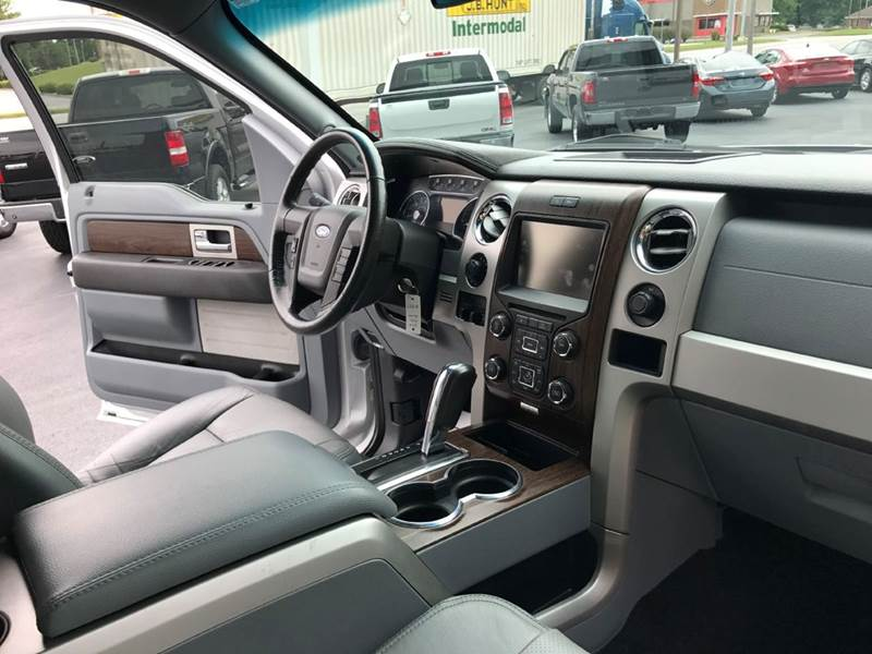 2014 Ford F-150 4x4 Lariat 4dr SuperCrew Styleside 5.5 ft. SB - Muscle Shoals AL
