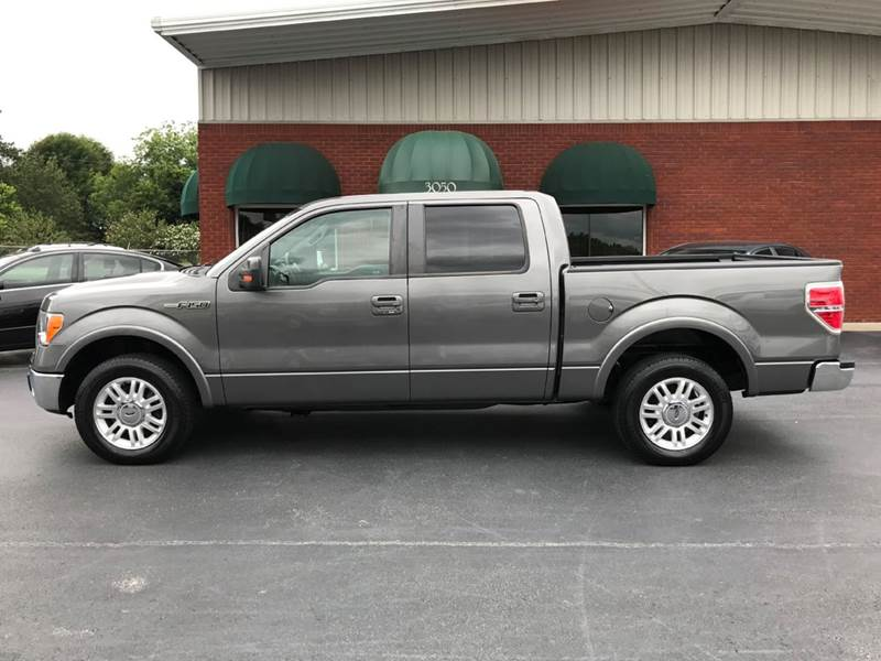 2011 Ford F-150 4x2 Lariat 4dr SuperCrew Styleside 5.5 ft. SB - Muscle Shoals AL