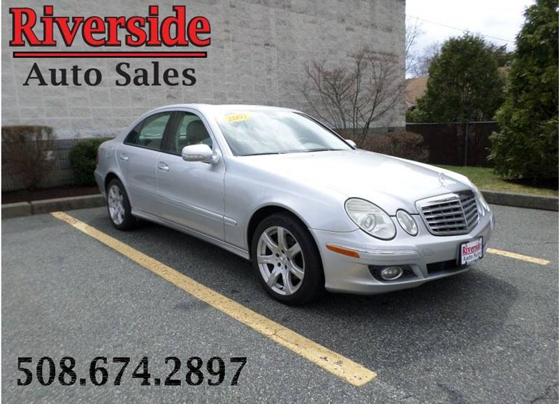 2007 Mercedes-Benz E-Class for sale at RIVERSIDE AUTO SALES INC in Somerset MA