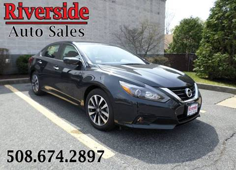 2017 Nissan Altima for sale at RIVERSIDE AUTO SALES INC in Somerset MA