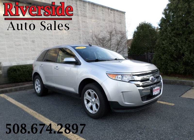 Ford Edge Awd Sel Dr Crossover Somerset Ma