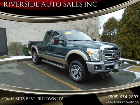 2011 Ford F-250 Super Duty for sale at RIVERSIDE AUTO SALES INC in Somerset MA