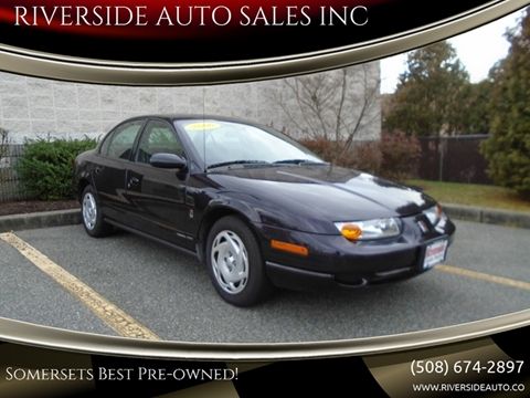 2000 Saturn S-Series for sale at RIVERSIDE AUTO SALES INC in Somerset MA