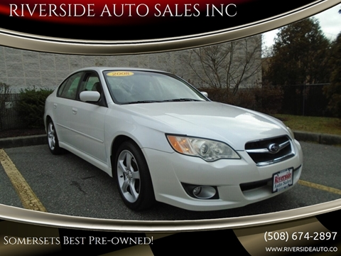 2008 Subaru Legacy for sale at RIVERSIDE AUTO SALES INC in Somerset MA